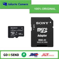 Sony 64GB SR - 64UZA/T Micro SD Memory Card