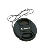 Lens Cap Canon 49 mm With Rope || penutup lensa || dslr || kamera
