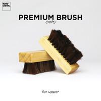 Premium Shoe Brush (Soft) for Upper   Sikat Pembersih Sepatu Cleaner