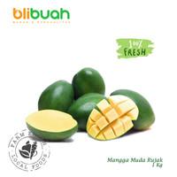 Mangga Muda Rujak 1Kg / an unripe mango / Buah Mangga
