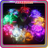 TK E001 Lampu Tumblr 10 M 100 PCS LED Murah Light Dekor Box tumbler