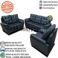 SOFA JUMBO LUXURY DACRON EMPUK HIGH QUALITY !!! PROMO FREE ONGKIR !!!