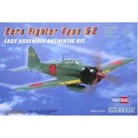 pesawat Zero Fighter Type 52 1/72 Model Kit Hobby Boss