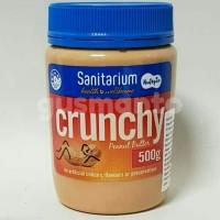 Sanitarium Cruncy Peanut Butter Spread 500g  Selai kacang Import