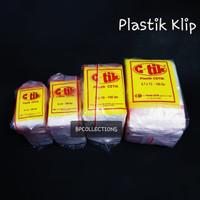 100PCS PLASTIK KLIP 10X15 BENING CETIK PLASTIK BUMBU NON GOJEK