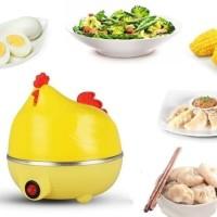 Egg Boiler Chicken / Alat Rebus / Penghangat Steamer Unik
