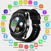 Smartwatch V8 Jam tangan Pintar yang Dilengkapi Banyak Fitur Lengkap
