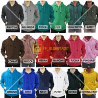 Promo Jaket Sweater Polos Hoodie Zipper/Resleting