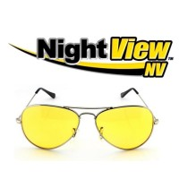 Kacamata Malam Anti Silau - Kuning / Night View Glasses