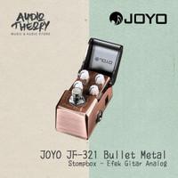 Stompbox Joyo Ironman Bullet Metal Distortion Effect / Efek Pedal