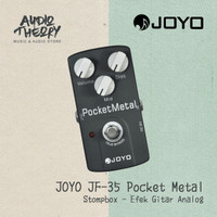 Stompbox Joyo JF 35 Pocket Metal Effect / Efek Pedal Gitar Original