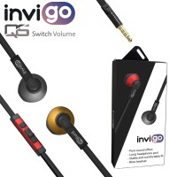 HANDSFREE / HEADSET / EARPHONE INVIGO QS Extra bass volume + mic
