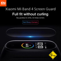 Anti Gores Mi Band 4 Screen Guard Protector - Soft TPU