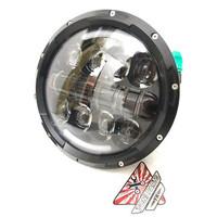 Headlamp Daymaker 7 Inch Lampu Depan Bulat W175 Royal Endfild Honda