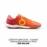 SALE! Sepatu futsal ortuseight catalyst oracle in orange