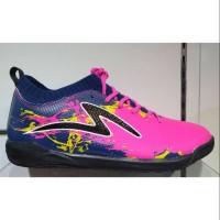 Sepatu futsal specs cyanide tnt 19fs blue pink