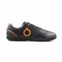 Sepatu futsal ortuseight genesis in black orange