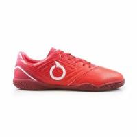 Sepatu futsal ortuseight genesis in red white