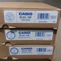 Jam Dinding Casio Analog Digital Ic01 Original Ready