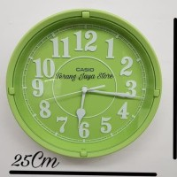 Jam Dinding Casio Iq-62 Wall Clock Casio Iq 62 Original 100% (Hijau)