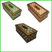 Kotak Tisu Bambu Unik