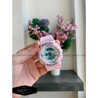 Jam Tangan Wanita Cewek Digitec Double Time Original Rubber Strap Pink