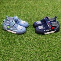 Sepatu Anak Import / Sneakers / Bintang / kids / bahan denim