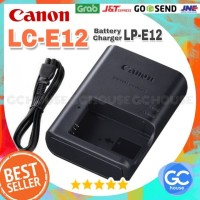 Charger Canon LC-E12 for Battery LP-E12 Eos Camera M 100D M2 M10 M100