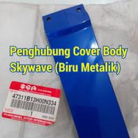 Penghubung Cover Body Skywave Warna Biru Metailk Original SGP