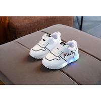 Sepatu Anak Led Laki Perempuan Kualitas Import Model Fashionable Putih