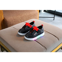 Sepatu Anak Lampu Led Kualitas Import trendi dan Fashionable Hitam