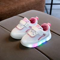 Sepatu Anak Led Perempuan MG Baby Sport Kualitas Import Warna Pink