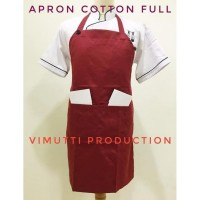 HOT SALE Celemek Masak Apron Cotton Full Harga Murah Mutuh Prima