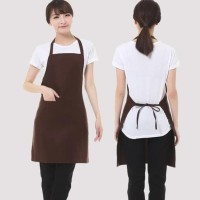 HOT SALE Celemek / Apron Cotton Full Coklat Tua Best Quality Low Price