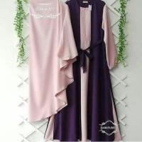 Busana Muslim Wanita Maxi Dress YUMNA Setelan Gamis Syari Terbaru