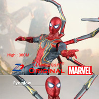 36cm Iron Spiderman Avengers Infinity War Marvel Action Figure