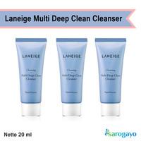 [sarogayo] READY Laneige Multi Deep Clean Cleanser Trial Kit 20 ml