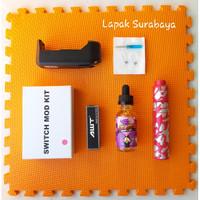 Paket Siap Kebul PSK Fapor Fape Vape Switch Mod V2 Mechanical Mod Kit
