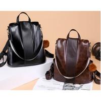 tas ransel wanita Backpack punggung import Sekolah Kuliah Kerja 096