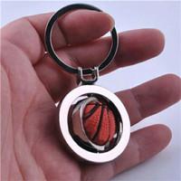 Gantungan Kunci Bola Basket basketball 3 D tiga dimensi