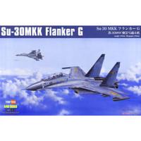 pesawat Su-30 MKK Flanker G 1/48 model kit hobby boss