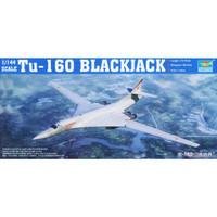 pesawat Tu-160 BlackJack Bomber 1/144 Model Kit trumpeter