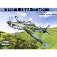 pesawat Brazilian EMB-314 Super Tucano 1/48 model kit hobby boss