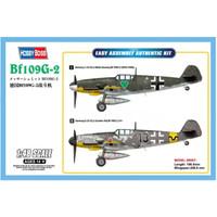 pesawat Bf109G-2 1/48 model kit hobby boss