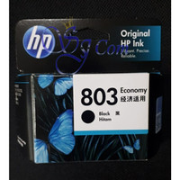 TINTA / CATRIDGE HP 803 BLACK ORIGINAL 100%