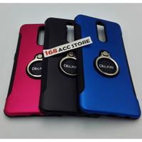 CASE OPPO F11 DELKIN RING / CASE PLUS RING OPPO F11