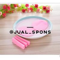 Spons Facial/Sponge Facial/Spons Kentang/Spons Wajah Murah Pink
