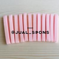 Grosir Spons Facial/Sponge Facial/Spons Kentang/Spons Make Up Pink