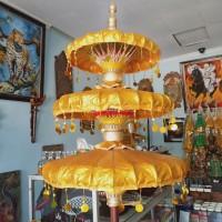 payung agung payung keraton warna emas susun 3