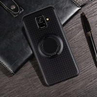 Softcase I-Zore Magnetic Ring Soft Case Cover Casing Samsung Galaxy A6